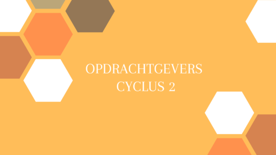Opdrachtgevers cyclus 2