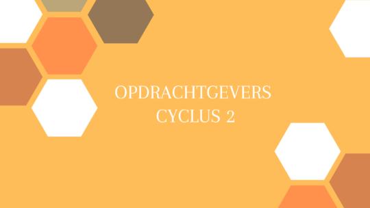 Opdrachtgevers cyclus 2